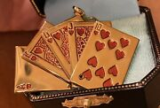 Vhtf 2004 Juicy Couture Royal Flush Deck Of Cards Charm Yjru0122