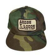 Vintage Hunting Camp Adobe Lodge Hat K Products Brand Trucker Snapback Patch