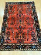 4and0393 X 6and0396 Antique Turkish Floral Design Oriental Rug - 1910s - Hand Made