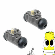 Premium Rear Left And Right Wheel Cylinders For 1955-1963 Pontiac Catalina 1 Bore