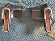 1970 - 1972 Chevrolet Monte Carlo Pair Of Tailights And Taillight Panels