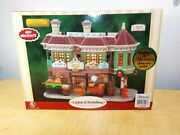 Lemax 65408 Caddington Village Grahamand039s Grocery Lighted And Animated Bldg Nos