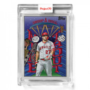 Topps Project 70 Card 489 - 2002 Mike Trout By Snoop Dogg - Presale