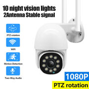 Hd Wifi Ip Camera Cctv Outdoor Security Wireless Smart Ir Night Vision+3m Cable