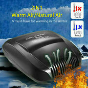 2-mode Air Conditioner For Car 12v Dc Plug In Vehicle Heating Cooling Heater Fan