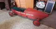 Vintage Soap Box Derby Racer Car Terry Draper Local Pickup