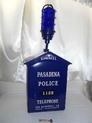 1950and039s Gamewell Police Pasadena Call Box Telephone Phone Station Fire Alarm Old
