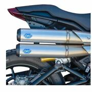 S And S Cycle Grand National 22 50 State Exhaust - Stainless Steel 550-0950b