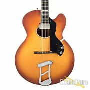 Hagstrom Jimmy Oval Hole Archtop Guitar 53 026073 - Used