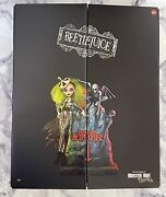 In Hand Monster High Skullector Beetlejuice And Lydia Deetz Doll Mattel Sealed Box