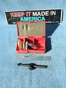 Moore Tool Co. 3057a Jig Bore Used Dog-leg With Swiss .0001 Indicator Machinist