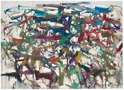 Joan Mitchell And039ladybugand039 1957 Abstract Expressionist Art Poster 27 X 33 New