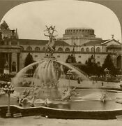 Keystone Stereoview Of Fountain Of Energy Pan-pacific Expo San Francisco Ppie 2