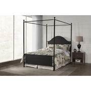 Cumberland Canopy Bed - Queen - Metal Bed Rail Included
