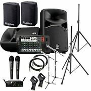 Yamaha Stagepas 600bt Pa Set With Speaker Cover All-in-one Pa System Bluetooth