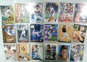 Collection Of 73 Cal Ripken Baseball Cards From The 1990s - No Duplicates Lot