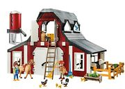 Playmobil Country 9315 Barn With Silo 222 Pieces See Pictures New Toys Kids Play