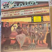 Capitol Lp Sv-12199 The Beatles - Reel Music Low Number - Gold Vinyl Canada Ss