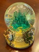 San Francisco Music Box Wizard Of Oz Where Off To See The Wizard Water Globe