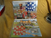 2011 Us Pandd Coin And Stamp Mint Set Panels - Postal Commemorative Society
