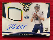2021 Chronicles Limited Zach Wilson Rpa Auto Rare Numbered /10 Byu/jets. 💥📈💥