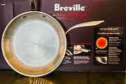 New - In Box Breville Thermal Pro Stainless Steel Frying Pan - 10 Inch