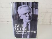 Systematic Theology By Paul Tillich Three Volumes In One 1967 Hardcover