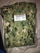 Nwt Us Navy Ecwcs Aor2 Nwu Type Iii Cold Weather Gore Tex Parka - X-large Reg