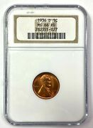 1936-d Lincoln Wheat Cent Penny 1c - Ngc Ms 66 Rd