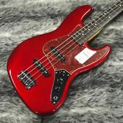Fender 2021 Collection Made In Japan Hybrid Ii Jazz Bass Candy Apple Red
