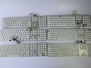 Lot Of 6 Apple A1243 Mb110ll/a Usb Wired Silver Keyboard 1