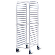 Costway 20 Sheet Aluminum Bun Pan Bakery Rack Rolling Kitchen Commercial 26and039and039 X