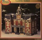 1998 Dickens Collectables Classic Series Porcelain Lighted Building 429-2082 ...