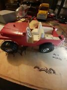 Hubley Jeep Metal Toy 1960s Some Damage