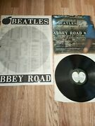 Abbey Road Demo Promo Apple Press Release Kit Poster Polo Ring Beatles Rare