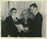 1968 Press Photo March Of Dimes Business Solicitation Leaders Of New Orleans