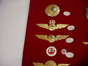 Incredible 5 Pcs National Airlines Badgespins Captaincrewruby10k