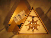 Scs Members Only Retired Christmas Ornament 2009 Golden Color Mib
