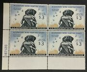 Momen Us Stamps Rw26 Duck Plate Block Mint Og Nh Xf Lot 73107