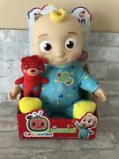 Cocomelon Roto New Musical Bedtime Jj Doll Soft Body Singing Plush Toy Youtube