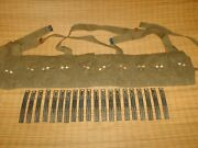 Sks Chinese Green Canvas Bandoleer Plus 20 Stripper Clips Armory 141