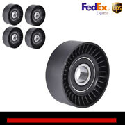 5x Belt Tension Pulley For Jeep Wrangler Bmw 128i Vw Beetle Chevy Town Andcountry