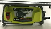 Ryobi Rts23 Portable Table Saw 10 In. 15 Amp Motor Blade Guard System,g