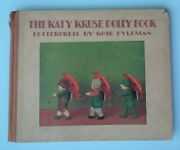 The Katy Kruse Dolly Book Rose Fyleman Vintage 1920s Dolls Antique Childrenand039s
