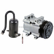 For 1989 Ford F-150 F-250 And Bronco Ac Compressor W/ A/c Drier And Orifice Tube Csw