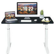 Gymax Electric 55''x28'' Standing Desk Sit To Stand Workstation Dual Motor
