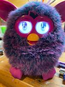 Furby Boom Interactive Toy Pet Hasbro 2012 Purple Pink Tested Works Great