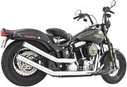 Freedom Performance Upsweeps Exhaust System - Star End Cap - Chrome Body With