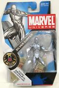 New Hasbro Marvel Universe Series 1 Number 003 Silver Surfer 2008