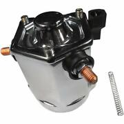Terry Components Loaded Starter Solenoid Bodies - Chrome - 555140